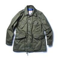 2018 Канада армии Полевая куртка свободные Тренч военные M65 верхней одежды для унисекс 36 42
