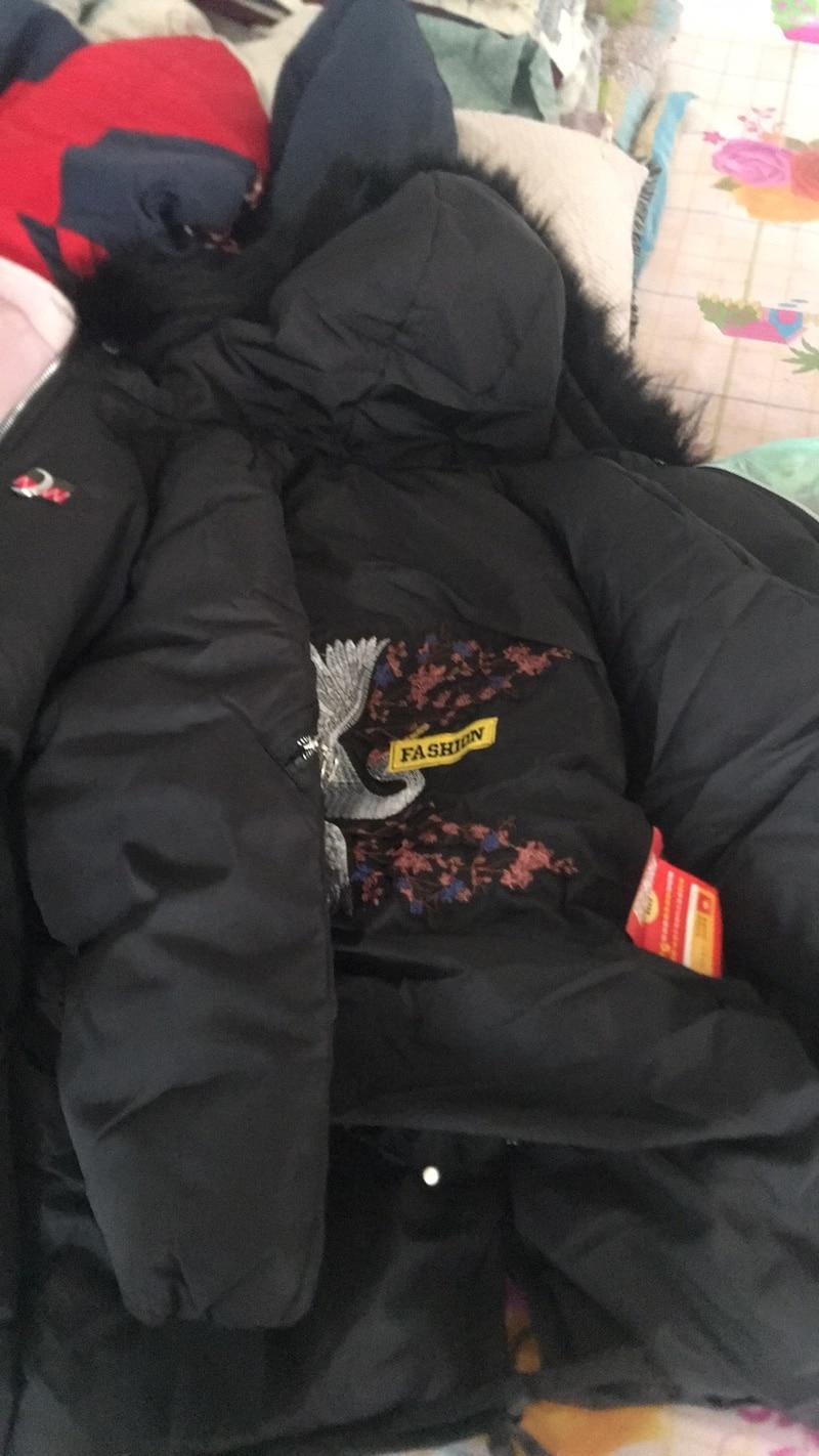 De Parka Veste Manteau Fourrure Dames Col Capuche Pardessus Mince Survêtement Hiver Et Épais À Coton Vestes Chaud Long Femme Femmes TO1Y7