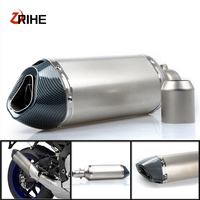 35 51MM Motorcycle Exhaust Pipe Muffler Motorbike Exhaust Modified Exhaust PipeFor Yamaha xmax 300 XMAX300 V MAX 1200 /VMAX 1200