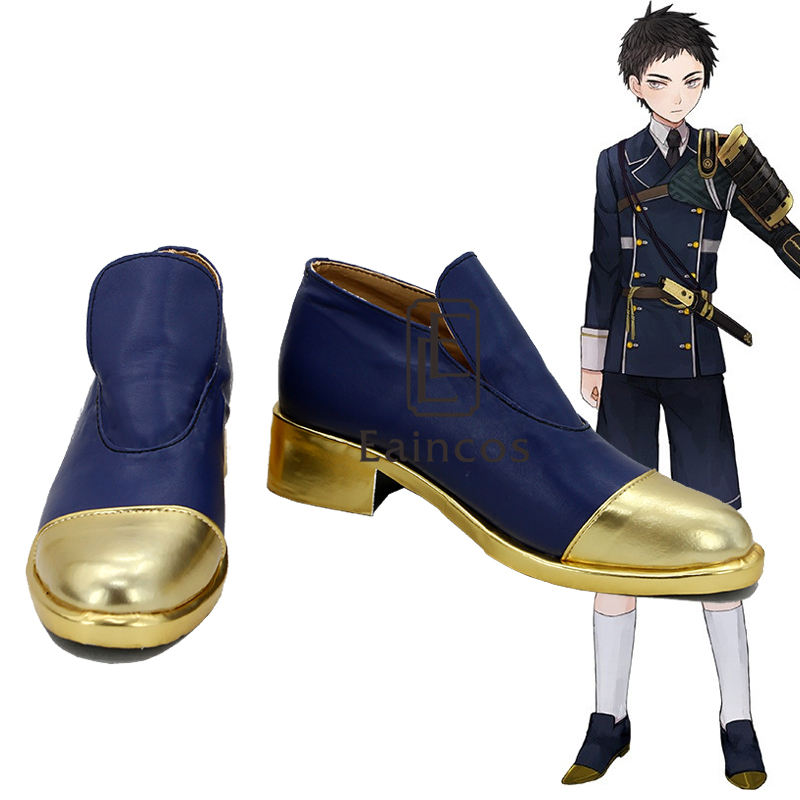 Popular Game Touken Ranbu Online Atsutoushirou Cosplay Party Shoes Custom Made