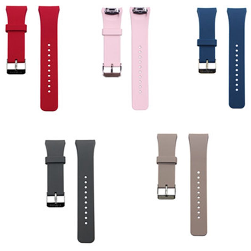 V-MORO 2017 New Arrival Fashion WATCH STRAP For SAMSUNG GEAR S2 BANDS Soft Rubber WATCH BAND For SAMSUNG GEAR S2 GearS2 CORREAS