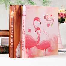 4D 6-inch Intert Photo Album 800 Pages Scrapbook Paper Baby Family Scrapbook Albums Wedding Foto Album Scrapbooking Album(China)