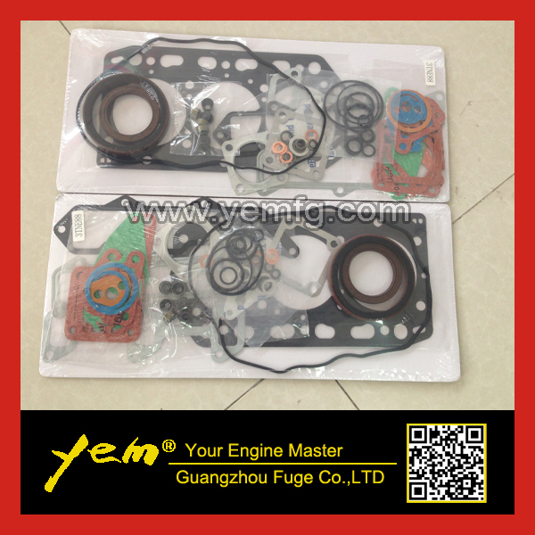 US $88.0 |For Yanmar engine 3TNV88 3TNE88 3D88E full gasket set with on