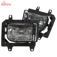 2Pcs Crystal Clear Lens Cover Front Bumper Fog Light Lamps House For BMW E30 318i 318is