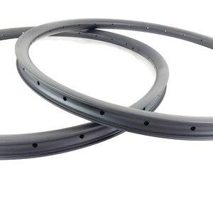 """Image 5 - 29er AM אנדורו אופני הרי 35mm אסימטרית נימוק מכריע ללא פנימית פחמן חישוקים 24H 28H 32H 36H א. ד. 3K 12K 3.5mm אופסט 29 """"MTB גלגל"""