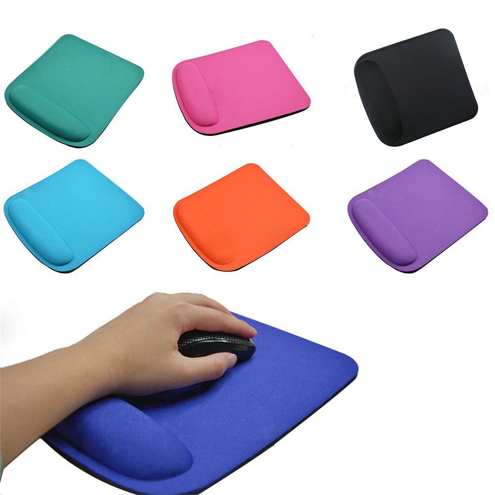Нескользящие мягкие наручные Поддержка игры Мышь коврик квадрат площадку для компьютера PC ноутбук