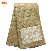 Mr Z Pre Sale Latest African Laces 2018 Polyester Embroidered High Quality African French Cord Lace