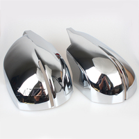 2 Pcs ABS Chrome Rearview Mirror Covers Decoration For Honda CRV CR V 2017 18 Side