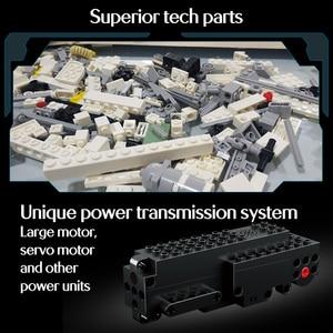 Image 2 - 391pcs Creator APP Remote Control Car Bricks Technic RC Tracked Racer Model Building Blocks Toys For Children Gift