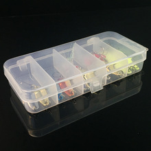 10Pcs/Box Metal Spoon Fishing Lures Set in Plastic Fishing Tackle Box Spinner Bait Spoon Lure Jig Fishing Accessories On Sale