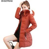 2018 new big size women cotton clothes fashion winter students Coat female winter thick Down cotton jacket long women warm parka