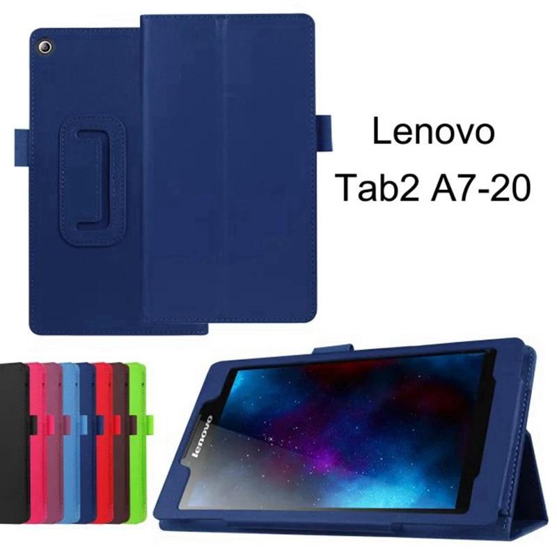 For Lenovo Tab 2 A7-10 A7-10F A7-20 A7-20F Tab2 A7 20 10 Tablet Cover Case Bracket Flip Fashion Leather Cover Case+ FilmFor Lenovo Tab 2 A7-10 A7-10F A7-20 A7-20F Tab2 A7 20 10 Tablet Cover Case Bracket Flip Fashion Leather Cover Case+ Film