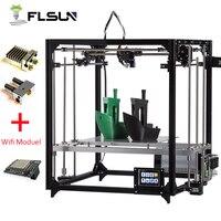 2017 Newest Large Printing Area 260 260 350mm Open Build Aluminium Frame 3D Printer Kit Printer