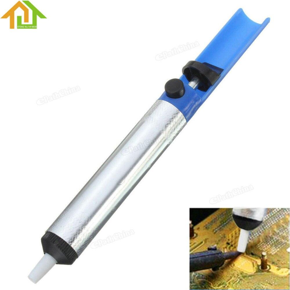 Beliebte Marke Entlöten Verbindungen/pc Boards Und Komponenten Aluminium Hand Betrieben Entlötpumpe Vakuum Solder Sucker