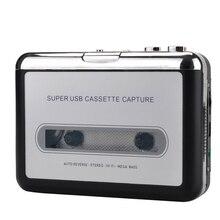 Ezcap218 Usb Cassette Player Tape Naar Pc Oude Cassette Naar MP3 Format Converter Audio Recorder Capture Walkman Met Auto Reverse