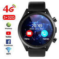 Newest Kospet Hope Android 7.1 Smartwatch 3GB+32GB Dual 4G 1.39 AMOLED WIFI GPS Sim IP67 Waterproof with camera Smart Watch