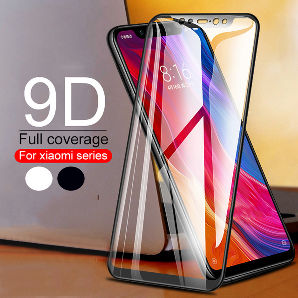 on the glass tempered for xiaomi mi 9 se 8 pro lite play protective film mi