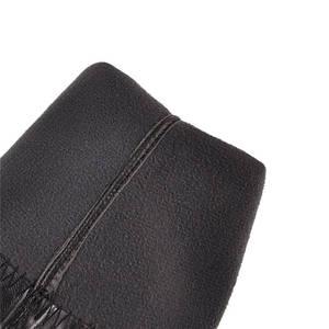 Image 5 - Женские ботфорты на шпильке MORAZORA, черные ботфорты на шпильке, без застежки, новинка осенне зимнего сезона 2020