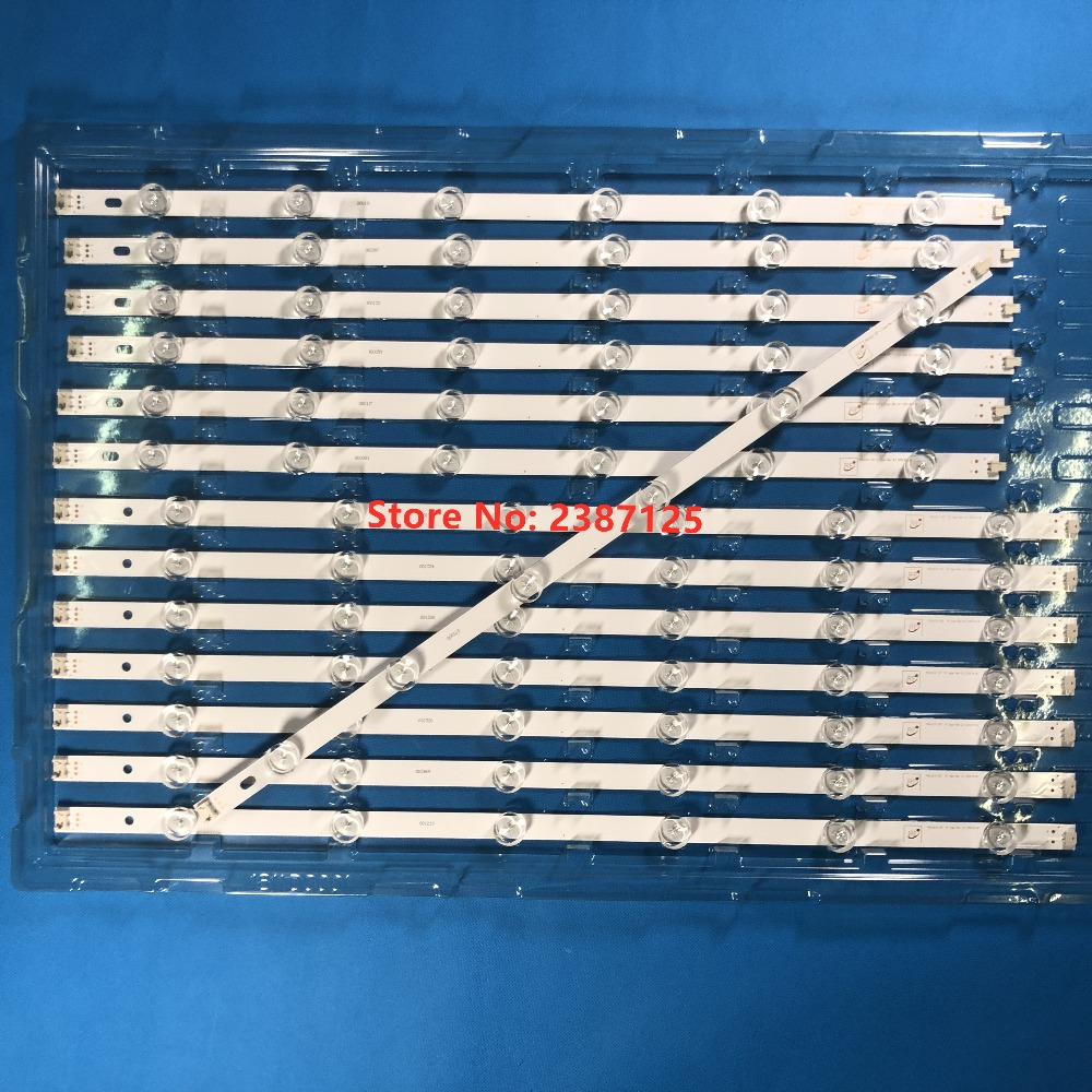 (New Kit) 56 PCS/set LED Backlight Strip For LG 55 Inch TV 55LN5400 55LN5200 55LN5700 Innotek Pola 2.0 POLA2.0 55 Inch R L Type