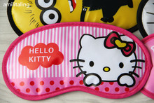 New Hello Kitty Soft Sleep Aid Mask Eye Shade Blindfold Cover Yey D9952China
