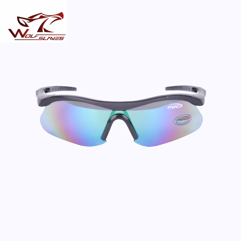 WOLFSLAVES Detective Men Sunglass Cycling Racing Goggles Polarized Male Ray Glasses Driv ...