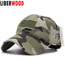f7f7d42223c United States USA flag embroidery army Special Forces camouflage baseball caps  hat US America flag Camo outdoor jungle Hats Cap