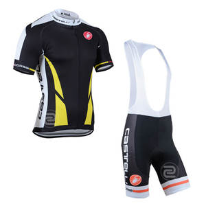 c8ffe644f New 2014 Castelli Short Sleeves Cycling Jersey Bib Set Ropa Ciclismo Pro  Bike Clothes MTB Bicycle Clothing Maillot Culotte Wears