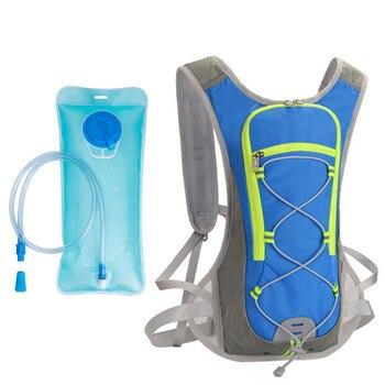 3c073576f 5L deporte al aire libre Mochila de agua subir Camping ciclismo camello bolsa  plegable bolsas de agua de hidratación contenedor 2019
