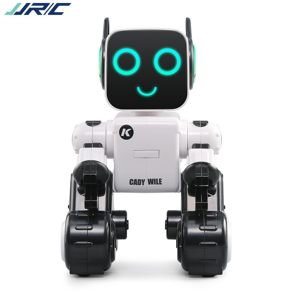 LeadingStar JJRC Children Smart Electric Dancing Space Robot with Light & Music Creative Toys Gift Decoration kids toys space robot bump and go action music lights and tons fun early learning walking robot music light gift 12m baby toys