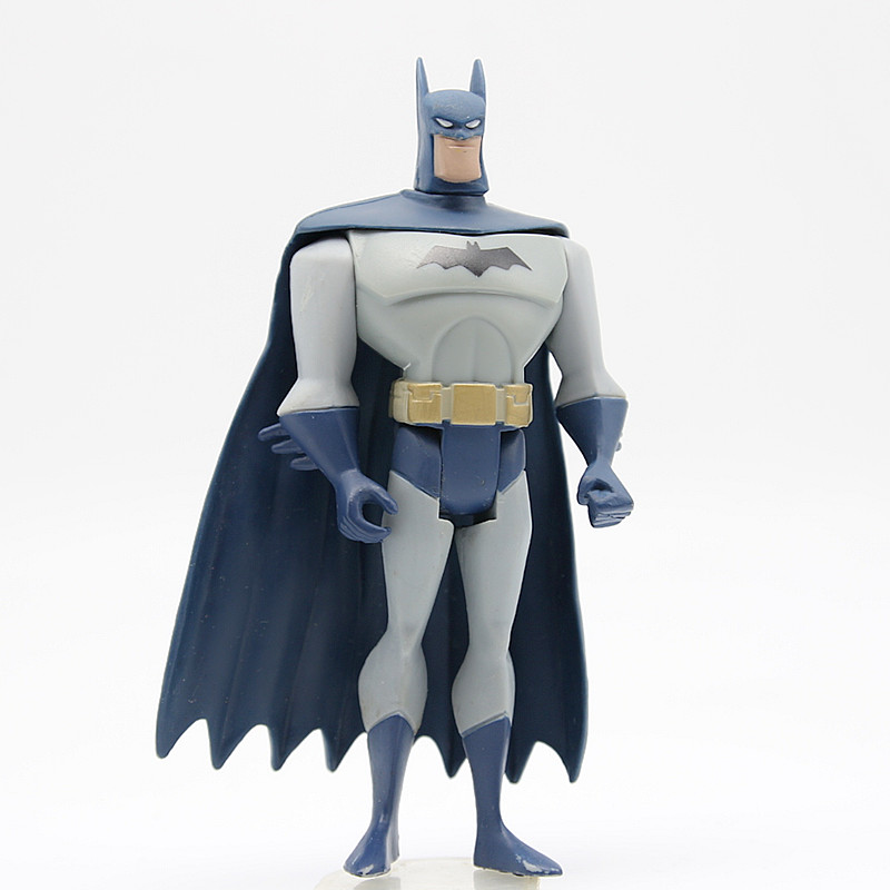 JUSTICE LEAGUE UNLIMITED DC Universe Batman Blue Gray Super Hero Action Figures Toys стоимость