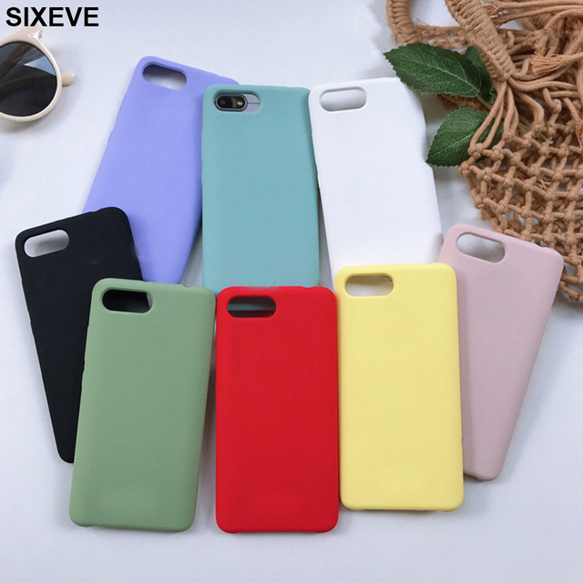 Luxury Candy Colors Silicone Case For Huawei P8 P9 P10 Lite P20 Lite Pro honor 8 9 Mate 10 Lite 2017 Y9 2018 Cell Phone Cover on