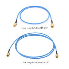 SMA штекер в SMA Штекер РЧ коаксиальный кабель RG405 соединитель адаптера сборочные кабели