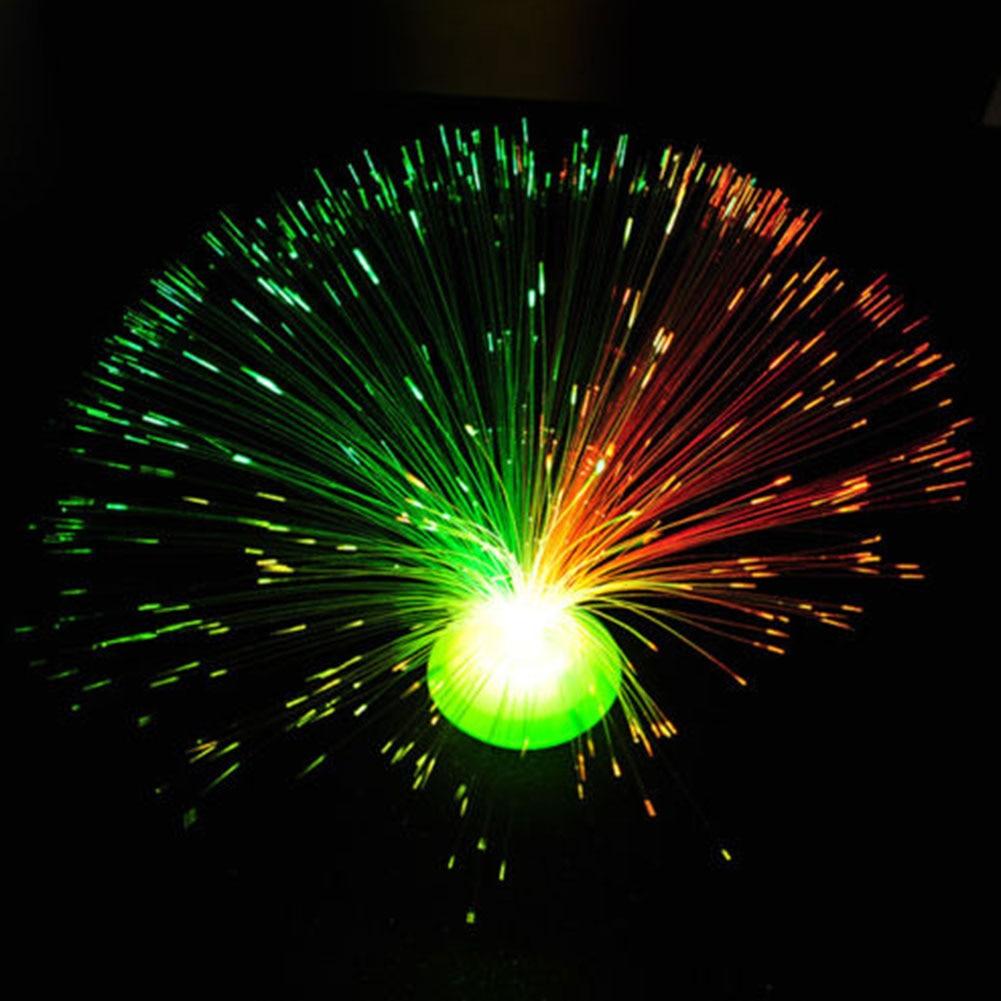 8 Modes Color Changeing Xmas Tree Hanging Decor Led Fiber Optic Lantern Hallowmas Christmas Automatically Flash Lamp LED Light