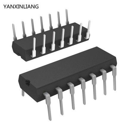 10 Stücke Cd4066Be Cd4066 Dip-14 Ti Cmos Quad Bilateralen Schalter Ic  MA