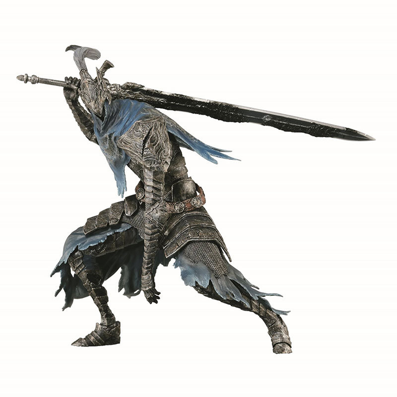 Dark Souls Figure ARTORIAS Cartoon Faraam Knight PVC Figure Collectible Model Toy 2 Styles 1/6 Action Figure Toys dead souls