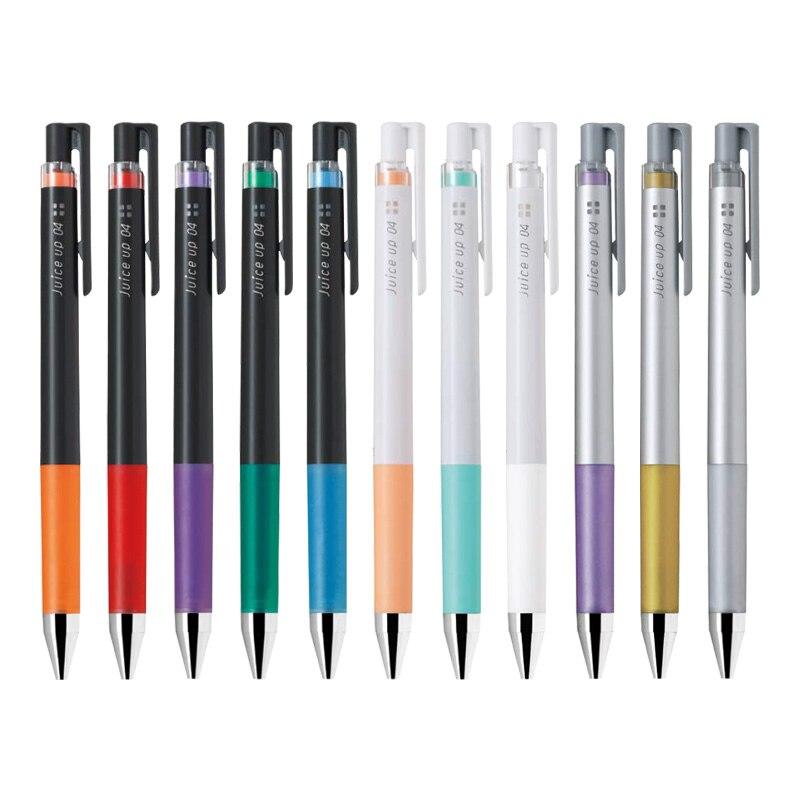 Jus de pilote japonais jusqu'à 0.4mm stylo Gel stylos de couleur Pastel métallique stylos d'école Kawaii papeterie fournitures de Scrapbooking LJP-20S4