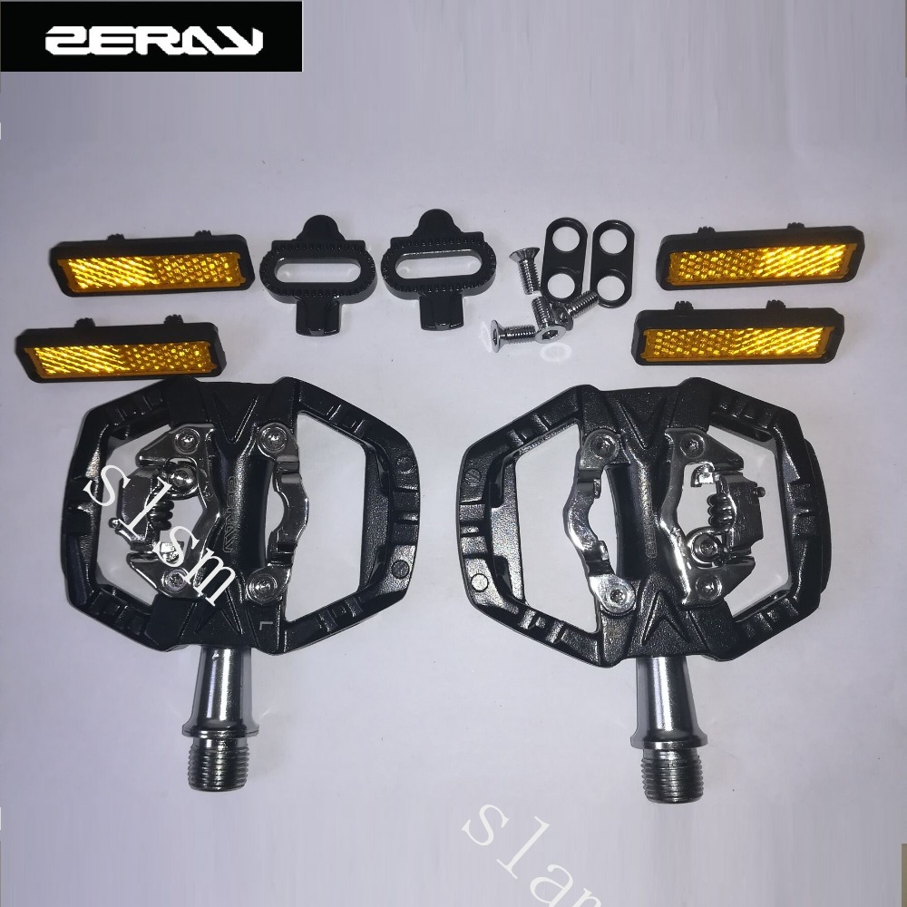 ZERAY Pedals Bike Pedal SPD MTB Road Bicycle Self locking Pedal Multifunction 340g ZP 109s Cycling Accessories