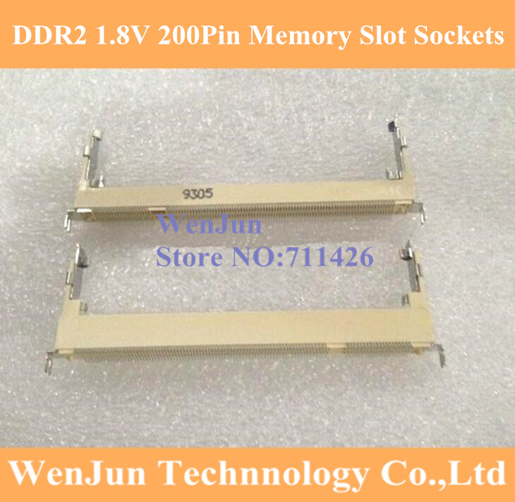 Foxconn DDR2 1,8 V 200Pin 5,2 H Anschlüsse laptop Speicher Slot Steckdosen 2200PIN Vorwärts