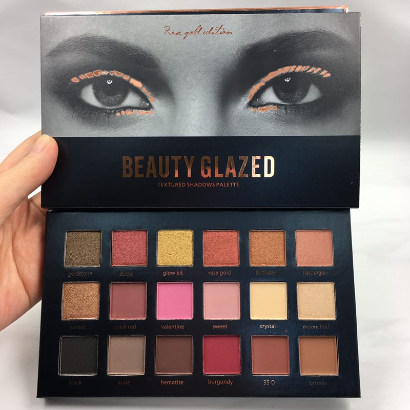 Eye Shadow Brand Makeup Long-lasting Eye Shadow Easy To Wear Eyeshadow Natural Matte Shimmer Natural Makeup Palette 18 Colors Beauty Essentials