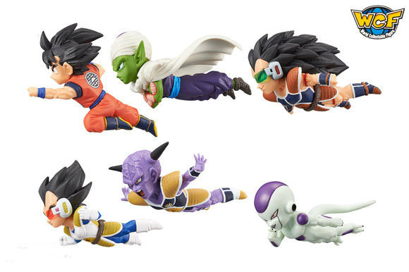 Dragon Ball Super World Collectable Figure Anime 30th Anniversary Vol.2 -Gokou,Piccolo,Vegeta,Raditz,Freeza,Ginyu- 100% Original original banpresto world collectable figure wcf the historical characters vol 3 full set of 6 pieces from dragon ball z