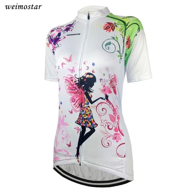 799c3b4b0 Damskie koszulki rowerowe jazda na rowerze odzież koszulka na rower Team rower  rowerowy jazda na rowerze