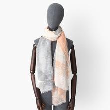 graffiti flower print 100% natural cotton scarves women fashion soft light artsy scarf lady winter warm shawl wraps bufanda