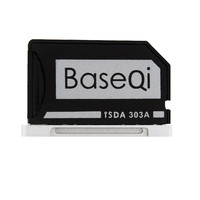 Original BASEQI Aluminum MiniDrive Micro SD Card Adapter Card Reader For Macbook Pro Retina 13