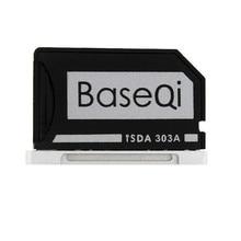 "Original baseqi aluminium minidrive micro sd kartenleser für macbook pro retina 13 ""model 303a speicherkarte adapter"