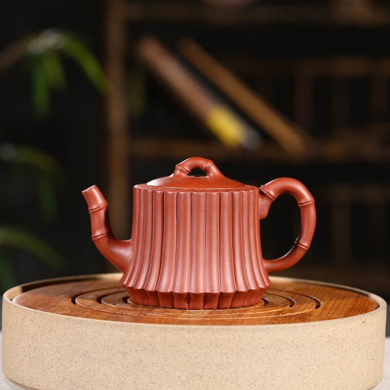 ore quality goods famous recommended all hand peng-cheng gu bundle of bamboo pot a ball hole undertakes the teapotore quality goods famous recommended all hand peng-cheng gu bundle of bamboo pot a ball hole undertakes the teapot
