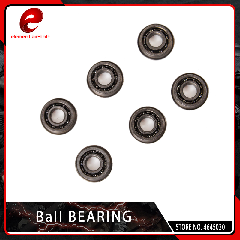 Element Airsoft 6PCS/SET Ball Bearing 7mm 8mm For AEG Gear Box Hunting Accessory