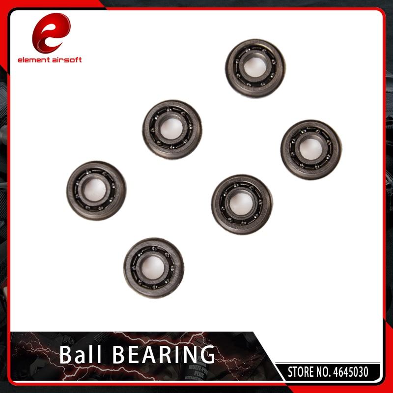 Element Airsoft 6PCS/SET Ball Bearing 7mm 8mm For AEG Gear Box Hunting Accessory