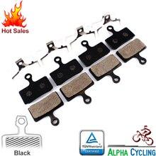 MTB Disc Brake Pads FOR M985, M988, Deore XT M785, SLX M666, M675, M615, Alfine S700, Brake, 4 Pairs, Resin