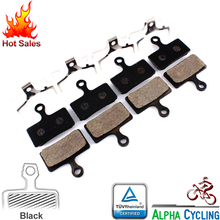Sports Entertainment - Cycling - MTB Disc Brake Pads FOR M985, M988, Deore XT M785, SLX M666, M675, Deore M615, Alfine S700, Disc Brake, 4 Pairs, Resin