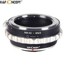 K&F CONCEPT Lens Adapter For NIKON G/D D3300 D5300/AI S Lens To Olympus M43 E-P1/E-P2/E-PL1 and Panasonnic G1/G2/GF1/GH1/GH2